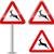 figyelem · vigyázat · állat · piros · háromszög · jelzőtábla - stock fotó © nickylarson974