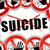 no suicide abstract concept stock photo © nickylarson974