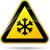 segnale · di · traffico · cautela · neve · ghiaccio · strada · segno - foto d'archivio © nickylarson974