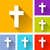 christian cross icons stock photo © nickylarson974