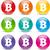 bitcoin · móvel · financiar · banco · numerário - foto stock © nickylarson974