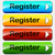 vector register buttons stock photo © nickylarson974