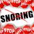 stop snoring stock photo © nickylarson974