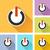 ボタン · 色 · ウェブ · オフ · ベクトル · 光 - ストックフォト © nickylarson974
