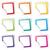 вектора · набор · красочный · иконки · белый - Сток-фото © nickylarson974