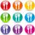 renkli · mutfak · siluet · simgeler · raflar - stok fotoğraf © nickylarson974