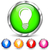 オレンジ · 電球 · アイデア · インフォグラフィック · 白 · グレー - ストックフォト © nickylarson974