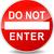 do not enter red sign stock photo © nickylarson974