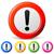 vector exclamation mark icons stock photo © nickylarson974