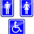 vector set of wc signs stock photo © nickylarson974