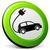 coche · eléctrico · hombre · barba · ciudad · vector - foto stock © nickylarson974