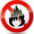 no fire icon stock photo © nickylarson974