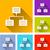 большой · данные · красочный · иконки · бизнеса · аналитика - Сток-фото © nickylarson974