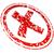 крест · вектора · красный · символ · письме - Сток-фото © nickylarson974