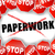 stop paperwork stock photo © nickylarson974