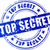 vector top secret blue stamp stock photo © nickylarson974