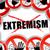 stoppen · terrorisme · gedetailleerd · illustratie · Rood · teken - stockfoto © nickylarson974