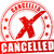 cancelled red stamp stock photo © nickylarson974