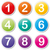 vector numbers icons stock photo © nickylarson974