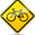 vector bicycle sign stock photo © nickylarson974