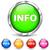 argento · informazioni · icone · arancione · web · blu - foto d'archivio © nickylarson974