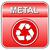 вектора · металл · Recycle · отходов · икона - Сток-фото © nickylarson974
