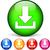 pdf · téléchargement · bleu · vecteur · icône · design - photo stock © nickylarson974