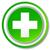 зеленый · крест · изолированный · белый · дизайна · больницу - Сток-фото © nickylarson974