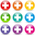 vector plus icons stock photo © nickylarson974