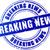 breaking news blue stamp stock photo © nickylarson974