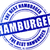 hamburger stamp icon stock photo © nickylarson974