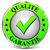 qualidade · garantir · ícone · branco · projeto · verde - foto stock © nickylarson974