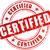 vector certified stamp stock photo © nickylarson974
