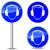 kötelező · felirat · fej · védelem · építkezés · kék - stock fotó © nickylarson974