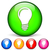 gloeilamp · lamp · iconen · witte · internet · web - stockfoto © nickylarson974