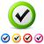 ベクトル · チェック · マーク · アイコン · 3D · ウェブ - ストックフォト © nickylarson974