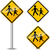 voetganger · teken · school · verkeersbord · illustratie · weg - stockfoto © nickylarson974