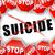 suicidio · ilustración · hombre · figura · disparo · cabeza - foto stock © nickylarson974