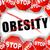 stop obesity stock photo © nickylarson974