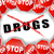 stop · droga · droga · concessionario · mano · siringa - foto d'archivio © nickylarson974