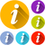 information icons stock photo © nickylarson974