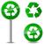 recycleren · teken · logo · icon · geïsoleerd · witte - stockfoto © nickylarson974