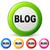 Gemeinschaft · Netzwerk · sozialen · Symbole · blau · grünen - stock foto © nickylarson974