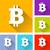 bitcoin icons stock photo © nickylarson974