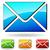 boletim · informativo · site · elemento · verde · envelope · projeto - foto stock © nickylarson974