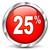 30 · százalék · árengedmény · piros · ezüst · gomb - stock fotó © nickylarson974
