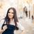 jonge · vrouw · bril · uit · stad · mooie · meisje - stockfoto © NicoletaIonescu
