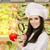 проверить · Привлекательная · женщина · ученого · томатный - Сток-фото © nicoletaionescu