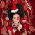 funny christmas girl holding a candy surrounded by lollipops stock photo © nicoletaionescu