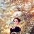 jonge · vrouw · genieten · voorjaar · bloesem · boom · jonge - stockfoto © nicoletaionescu